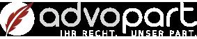 Transparentes Logo advopart | Rechtsanwaltskanzlei in Köln