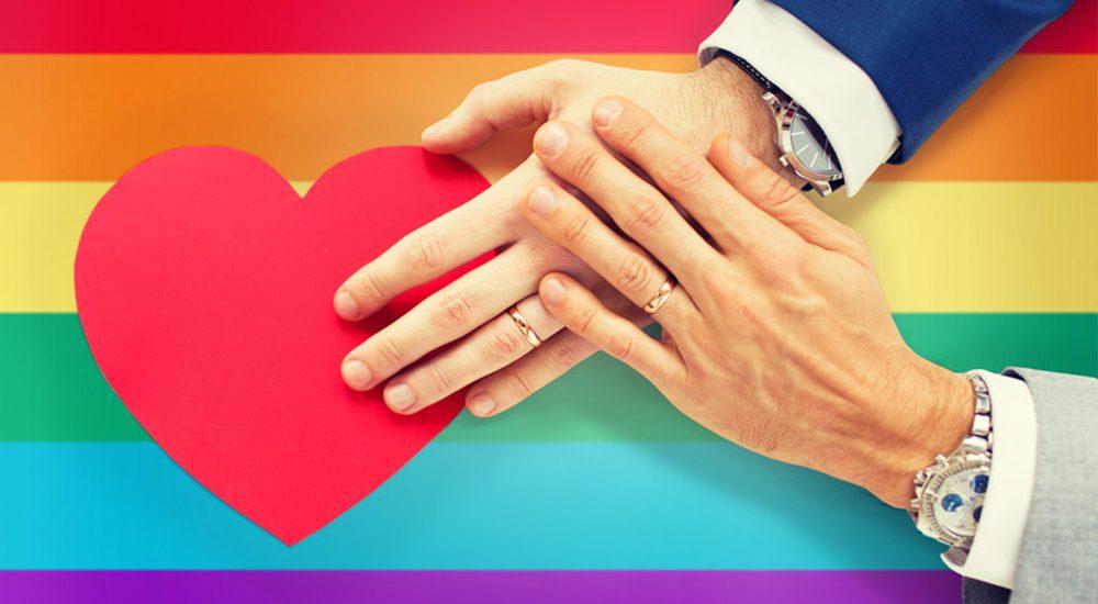Gleichgeschlechtliche Paare können heiraten